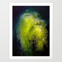 The Algae Nebula Art Print