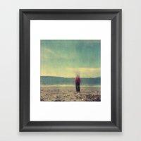 Long Exposure Experiment… Framed Art Print