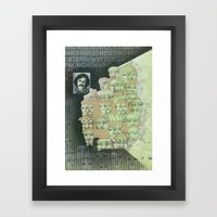 The individualist Framed Art Print