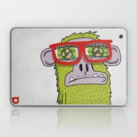 005_monkey Glasses Laptop & iPad Skin
