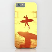 iPhone & iPod Case featuring The Shadow Surfer by Kim Bajorek