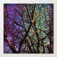 Colourful Tree Canvas Print