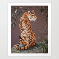 In The Stillness Of The Night  painting Art Print