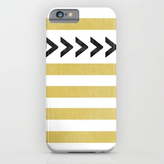 ARROW STRIPE {MUSTARD} iPhone & iPod Case