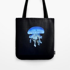 Jellyfish Blue Tote Bag