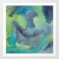 Briar Art Print