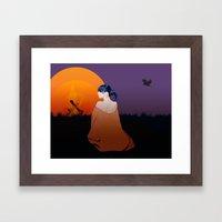 Outpost Framed Art Print