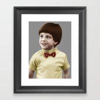 Problem Child Framed Art Print
