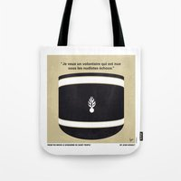 No186 My Le Gendarme de Saint-Tropez minimal movie poster Tote Bag