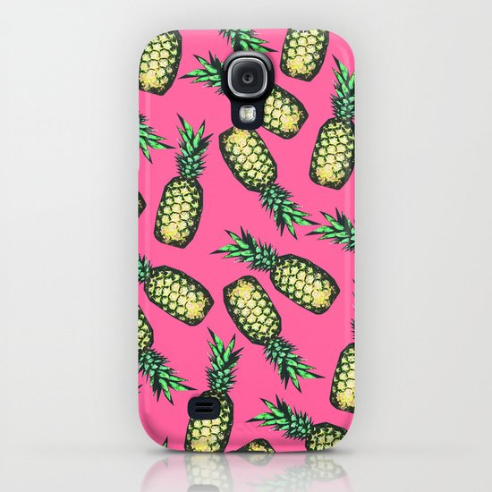 Pineapple Pattern iPhone & iPod Case