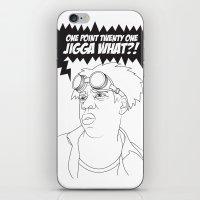 Black To The Future iPhone & iPod Skin