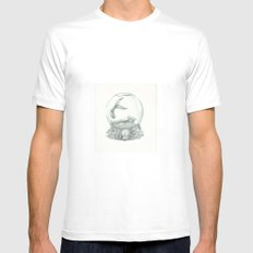 Waterworld SMALL White Mens Fitted Tee