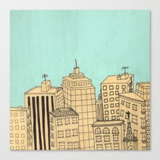 City scape Canvas Print