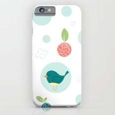 Birds with Polka Dots iPhone 6 Slim Case