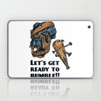 Lets Get Ready To Rumble… Laptop & iPad Skin