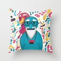 Moobies Throw Pillow