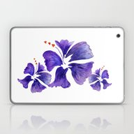 Island Flower Laptop & iPad Skin