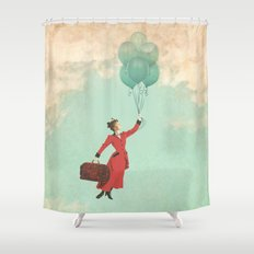 Mary, The Secret Behind … Shower Curtain