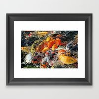 An Insatiable Hunger Framed Art Print