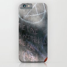 It's Just Words - #OWS Slim Case iPhone 6s