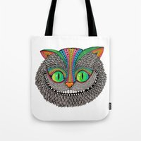 Alice´s Cheshire Cat By… Tote Bag