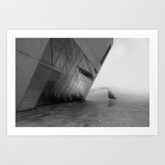 tectonic dive Art Print