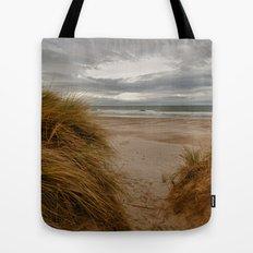 Bamburgh Beach Tote Bag