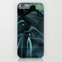 iPhone & iPod Case featuring She waits for the rain by David Finley