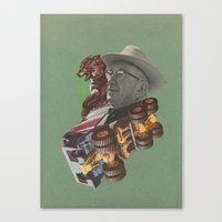 Beasts Canvas Print