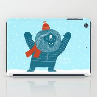 Snow Yeah iPad Case