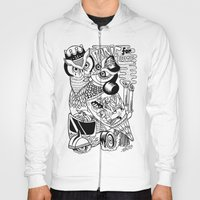 panic for love Hoody