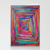 Colorful Yarns - for iphone Stationery Cards