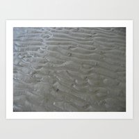 Ripples In The Sand (two… Art Print