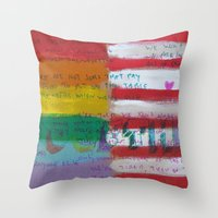 Flags For The Future 4: … Throw Pillow