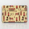London Frenchies iPad Case