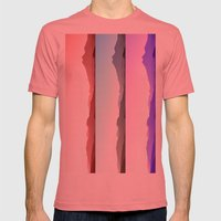 Skyline Mens Fitted Tee Pomegranate SMALL