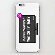 Watch TV daily iPhone & iPod Skin