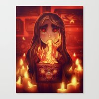 Drawers Of Wrath Canvas Print