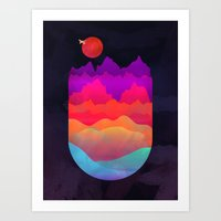 MOUNTAIN ESCAPE Art Print