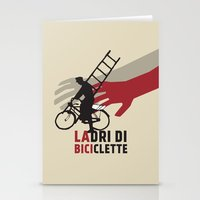 Ladri Di Biciclette Stationery Cards