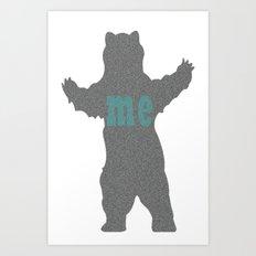 bear me Art Print