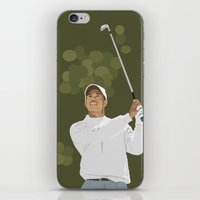 Tiger Woods iPhone & iPod Skin