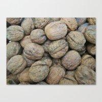 Autumn Walnuts Canvas Print