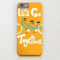 iPhone & iPod Case featuring Life's more fun when we're together by Melissa Kramer