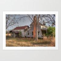 Forgotten Farmhouse Art Print