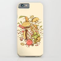 iPhone & iPod Case featuring Food Fight by Alex Solis