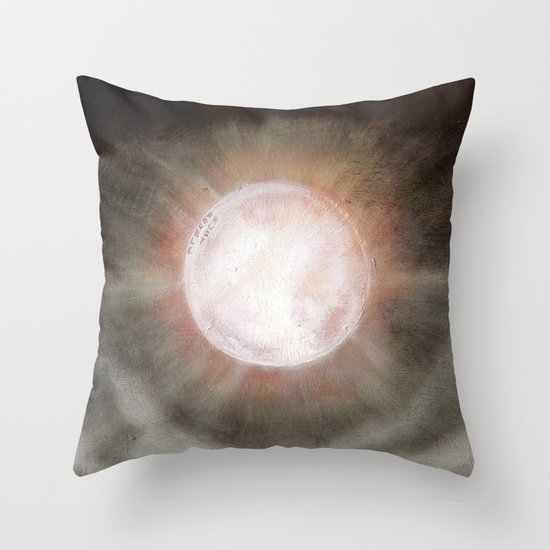 On the Wrong Side / Sun Throw Pillow