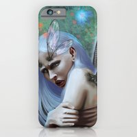 iPhone & iPod Case featuring Dragonfly lady by Jessica Prando