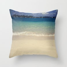 The Devil's Isles Throw Pillow