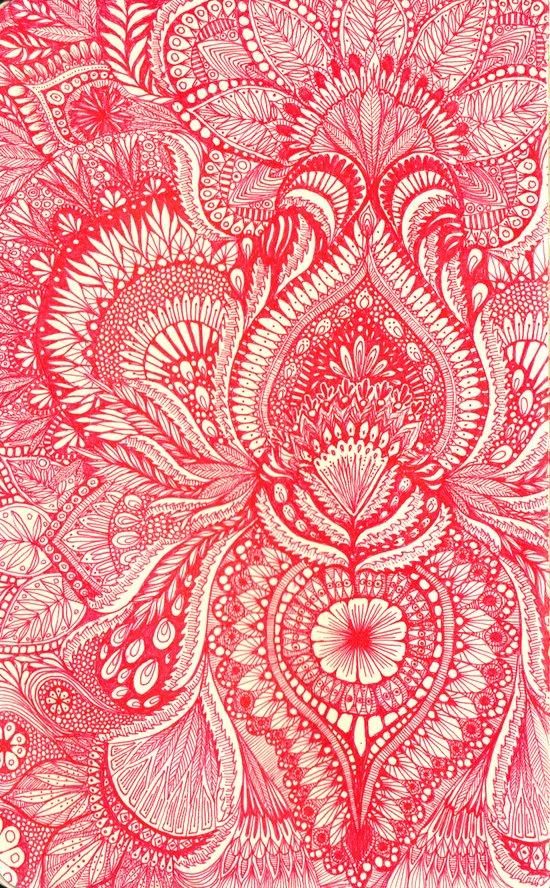 red Art Print